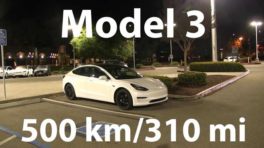 Bjorn Drives Tesla Model 3 311 Miles On Single Charge - Video