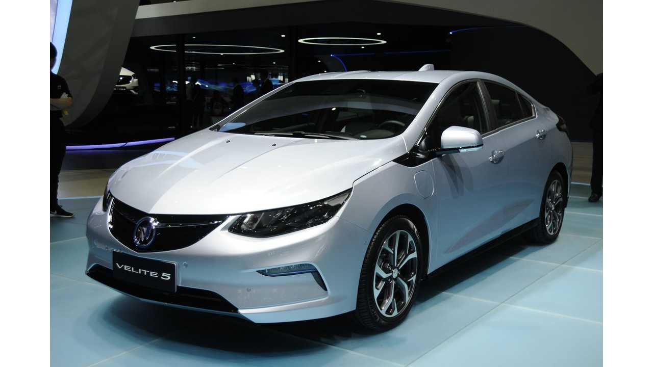 GM Says It Will Meet China's Electric Car Quotas By 2019