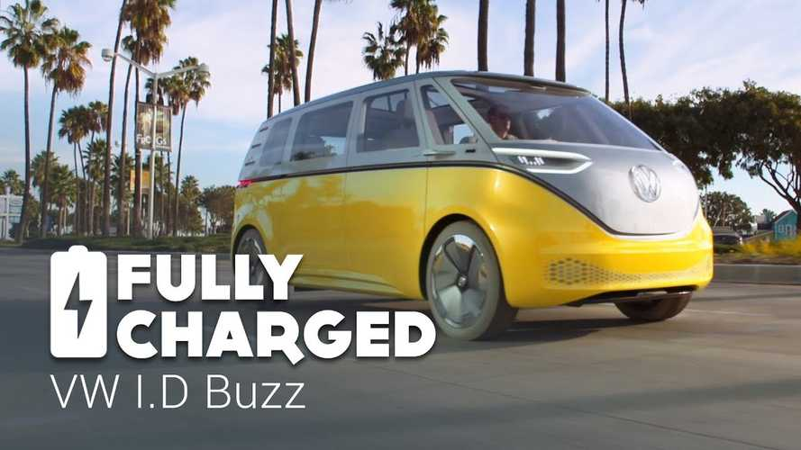 VW I.D. BUZZ, I.D. & I.D. CROZZ Featured By Fully Charged - Video
