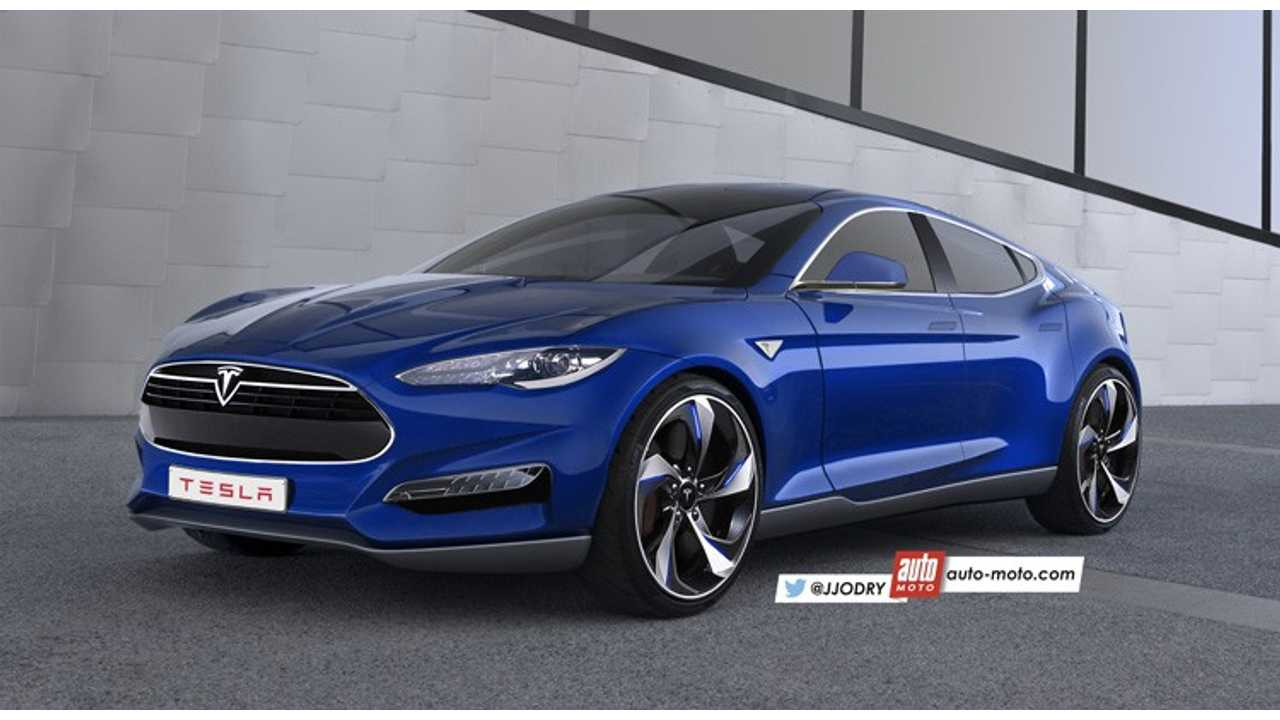 Recent Tesla Model 3 Rendering By Auto Moto Based Off The Ford Evos Concept