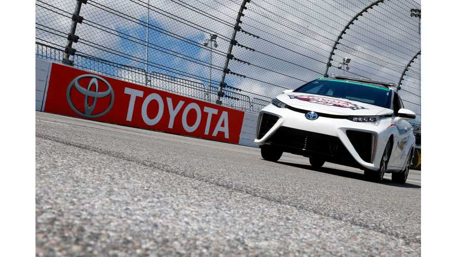 Toyota Mirai To Be Pace Car At This Weekend's NASCAR Race