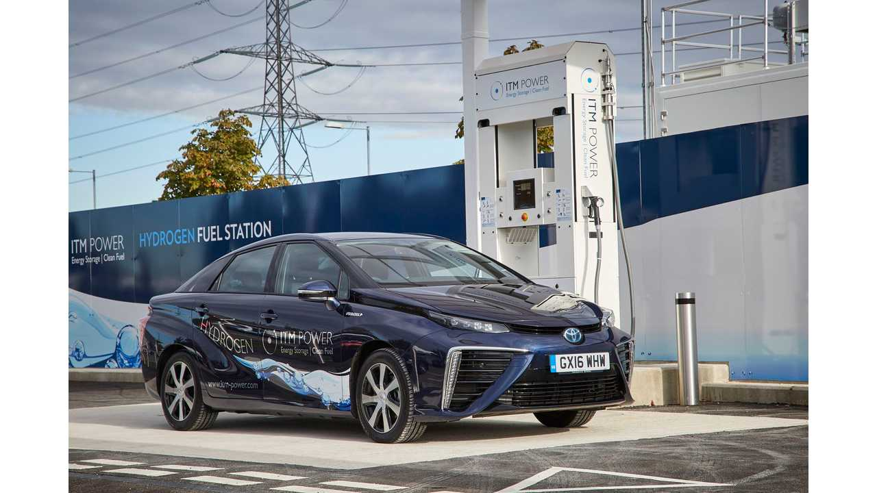 ITM Hydrogen Rally In Toyota Mirai - Fully Charged