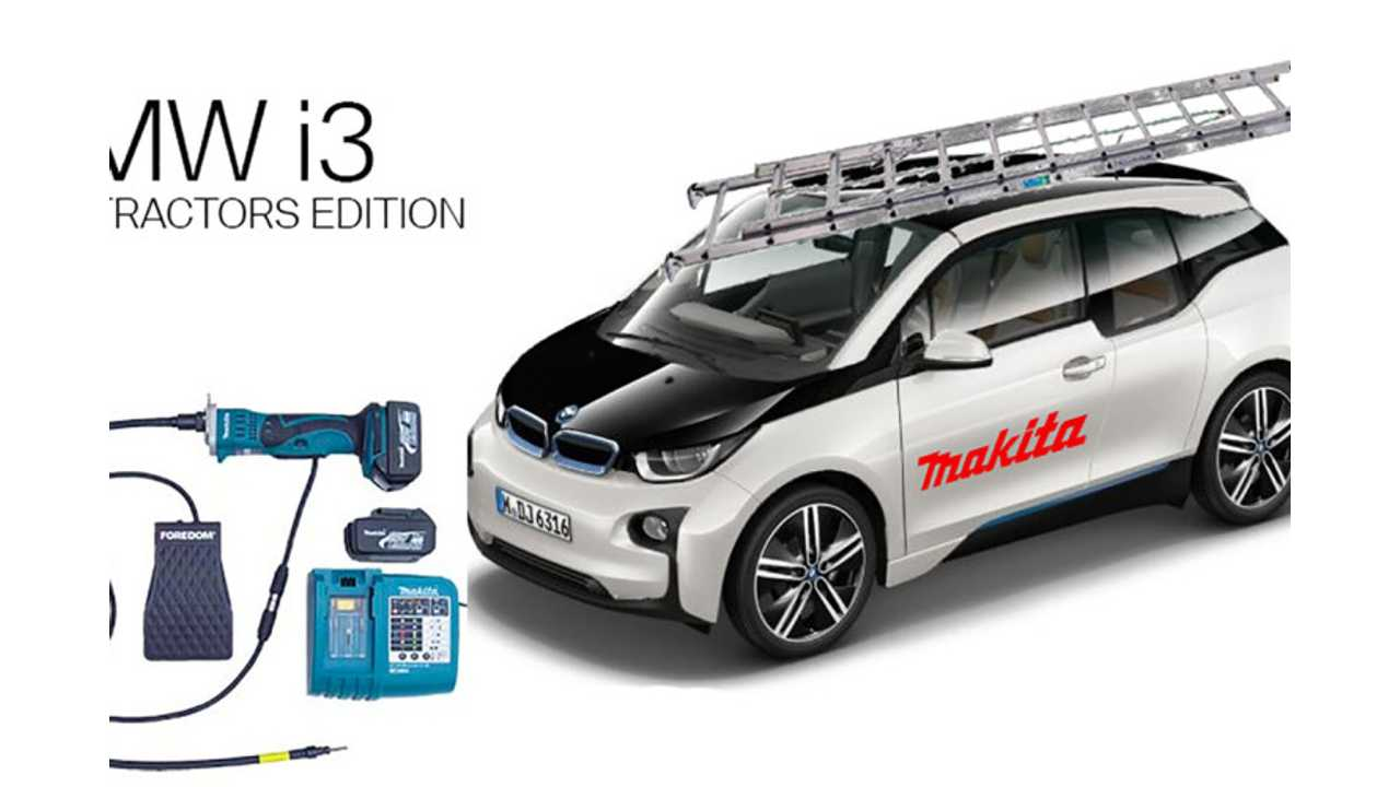 BMW Now Offers Makita Edition i3