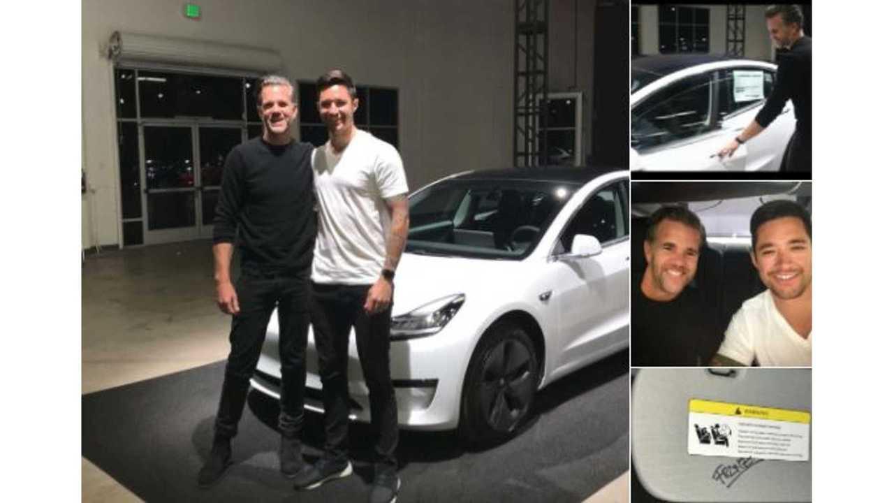 Tesla Designer Delivers & Signs Model 3 For Unsuspecting Buyer