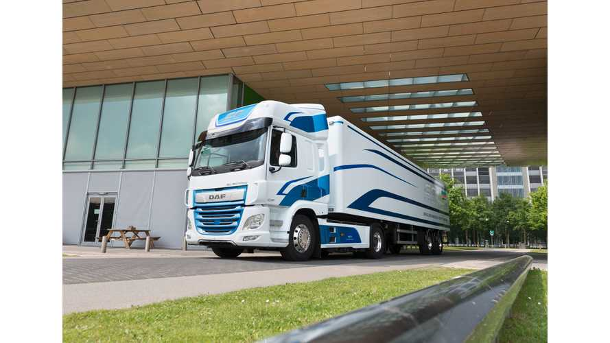 DAF Partners With VDL Groep For Fully Electric Truck