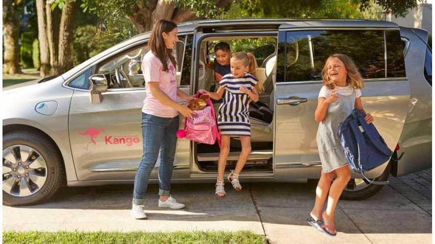 Chrysler Announces Pacifica Hybrid Family Rideshare Partnership