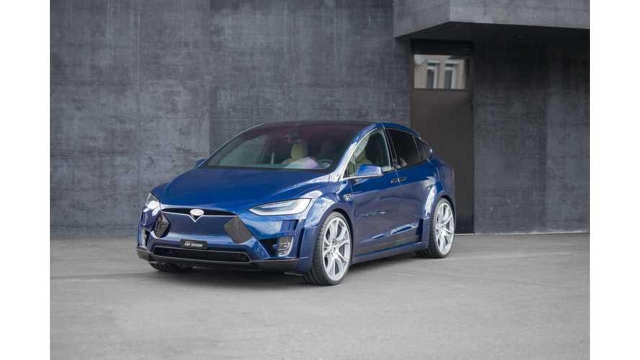 Widebody Tesla Model X Launches Via FAB Design - Virium Edition