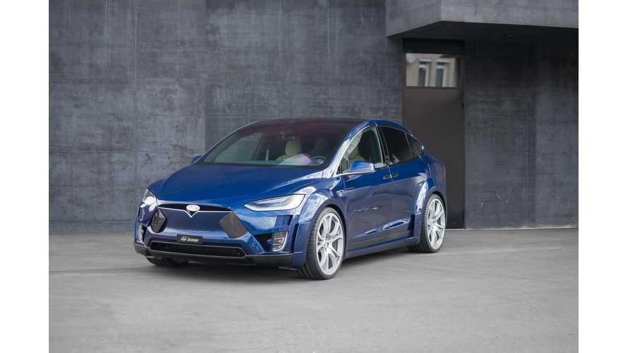 Widebody Tesla Model X Launches Via FAB Design - Virium Edition