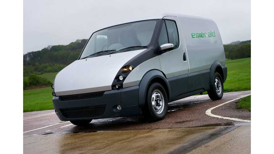 First Mass-Produced Extended-Range Electric Van To Launch Late Next Year