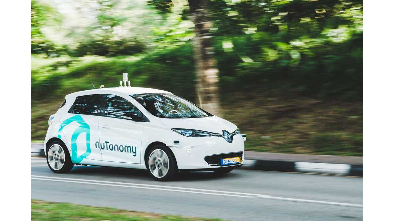 nuTonomy - Trial of self-driving car service