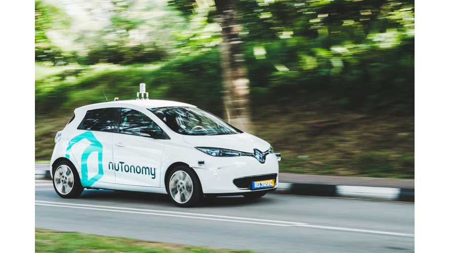 First Self-Driving Taxi Debuts In Singapore (w/video)