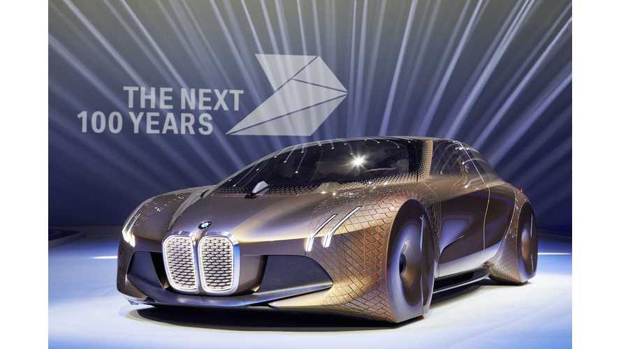 BMW iNext Autonomous Electric Car To Hit Showrooms In 2021