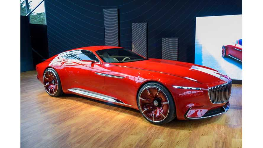 Watch The Vision Mercedes-Maybach 6 Unveiling, Details - Videos
