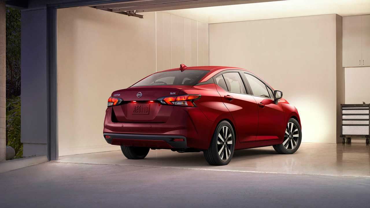 2020 Nissan Versa Unveil 2 of 19 | Motor1.com Photos