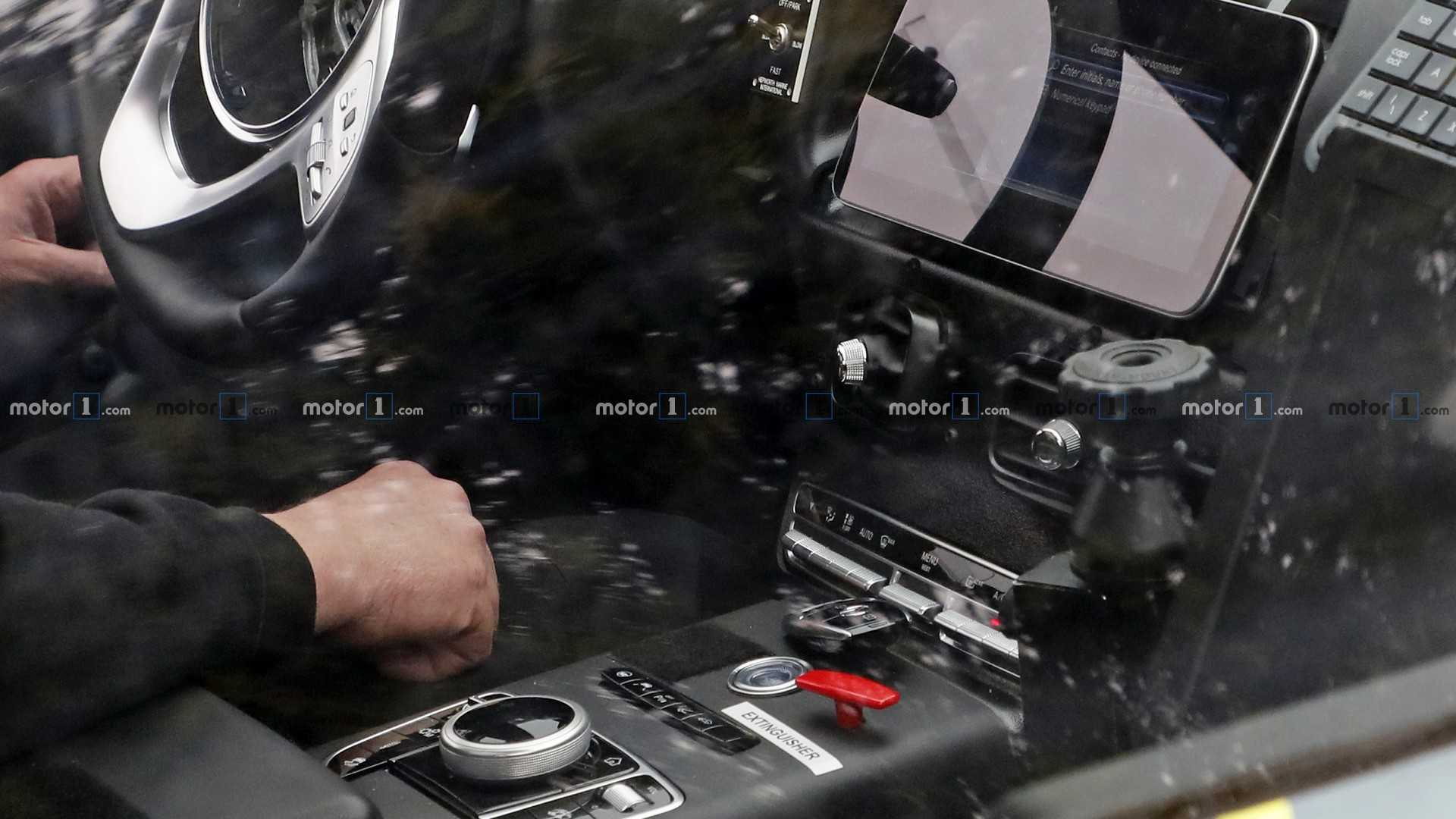 Aston Martin Dbx Interior Spied For The First Time
