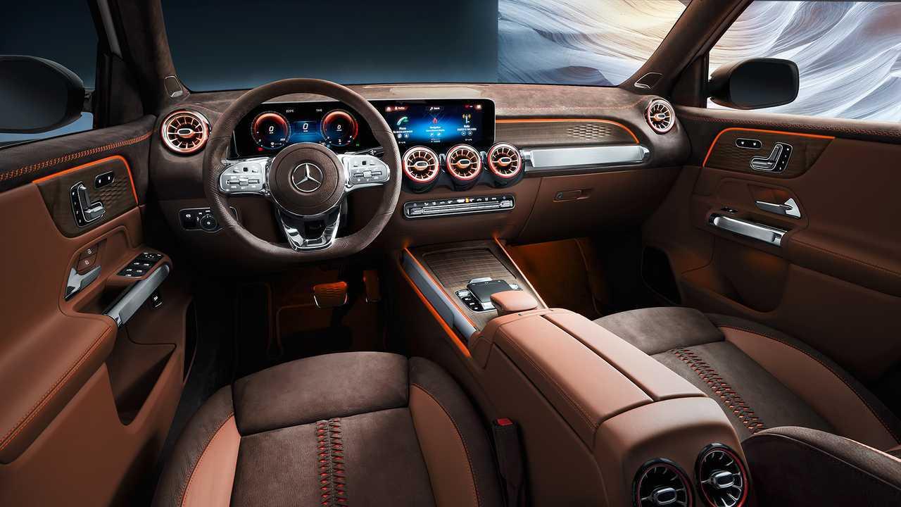 Mercedes Concept GLB 2019