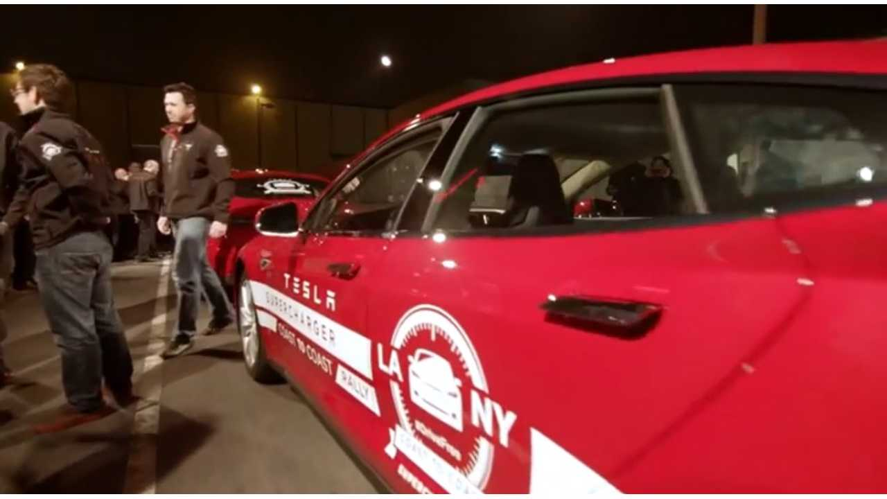 Tesla Models S Cross Country Rally - Behind The Scenes Episode 2 - Video