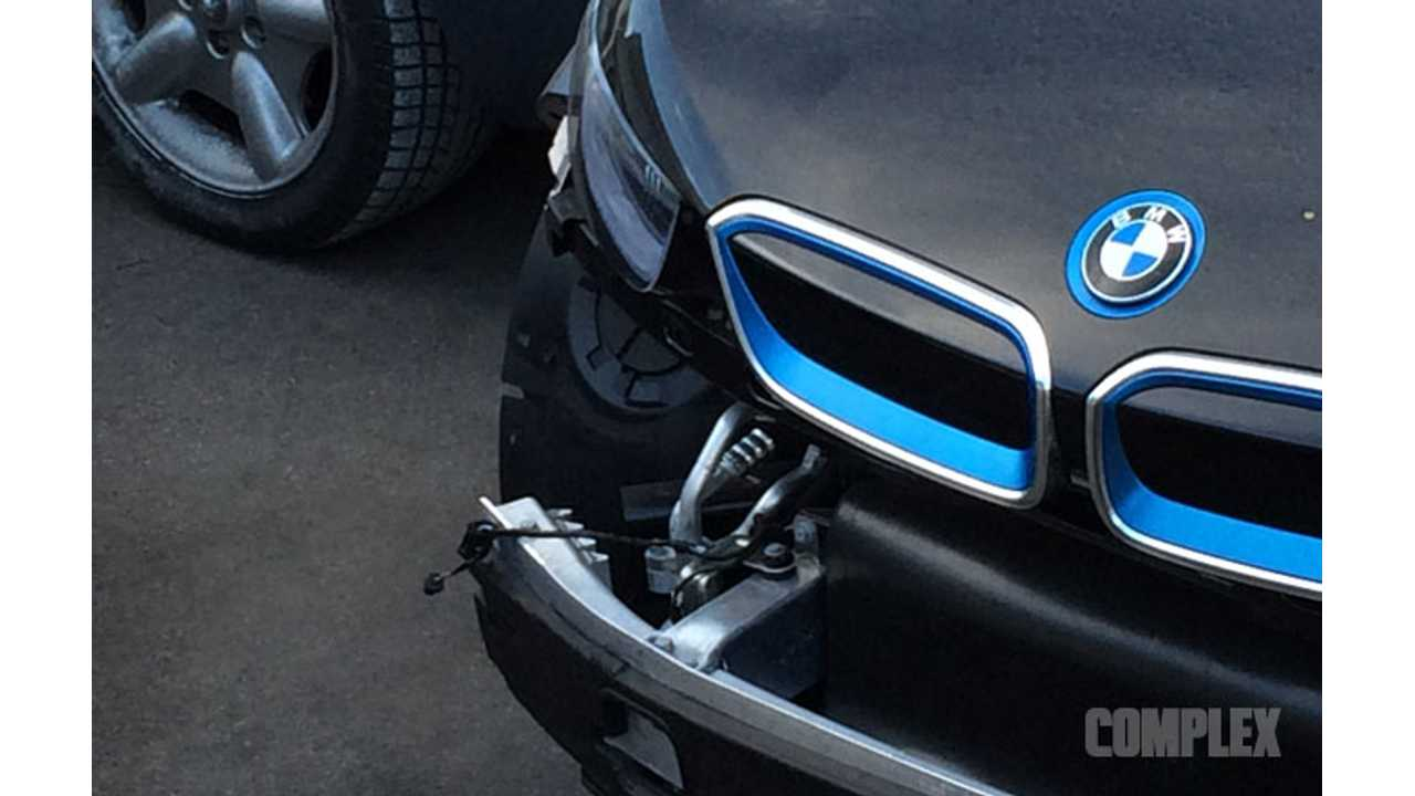 BMW i3 Gets Wrecked