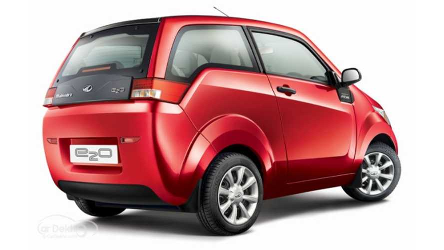 Mahindra Reva e2o Gets Host Of Options - Quick2Charge,  Sun2Car, Car2 Home, Goodbye Fuel/Hello Electric