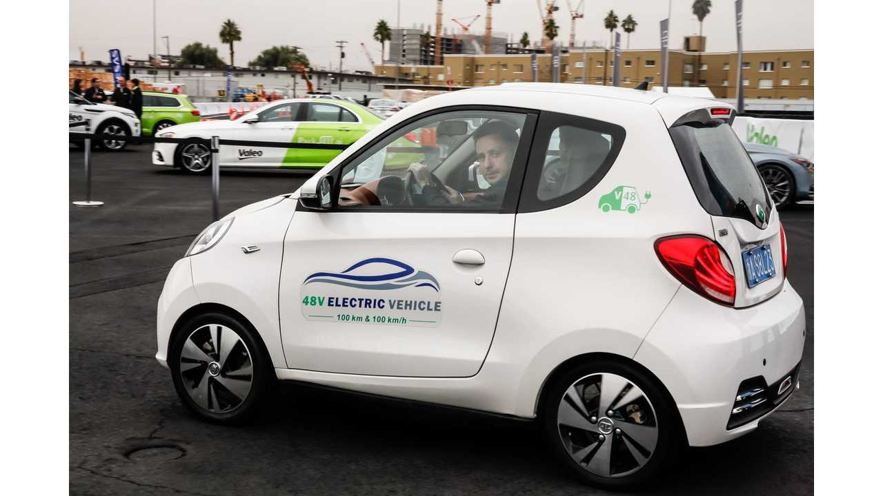 Valeo Unveils Crazy Cheap Electric Car - Just $9,000