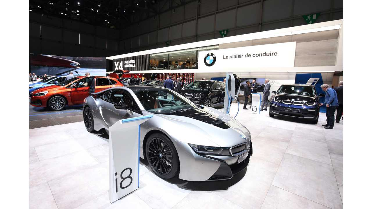 BMW Sold Over 7,900 Plug-In Electric Cars In February (Up 44%)