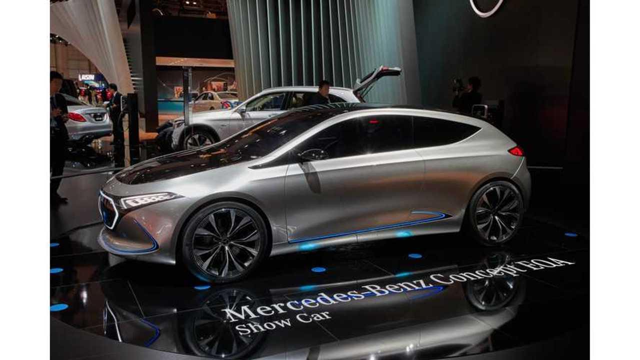 Mercedes Trademarks Over One Dozen EQ Names