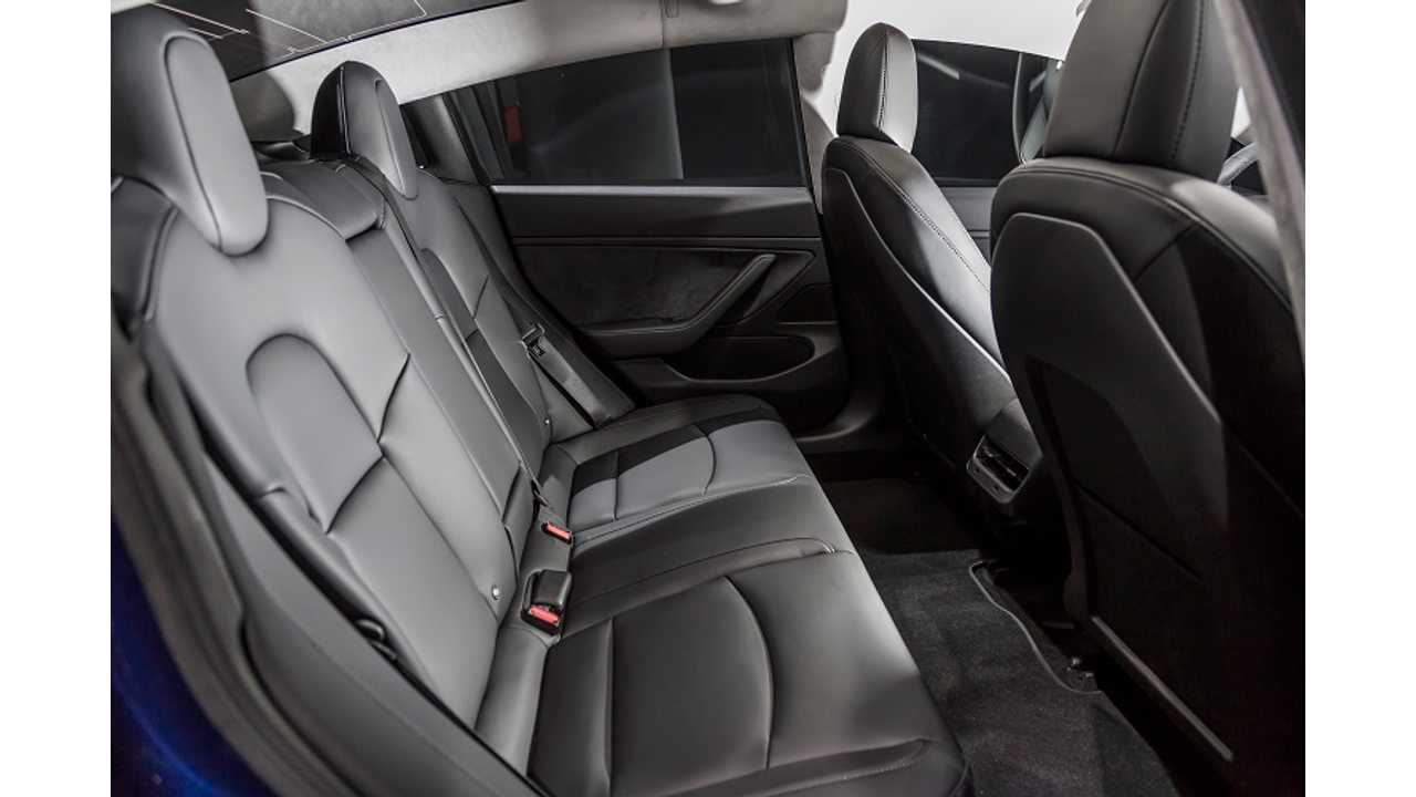 Tesla Model 3 Heated Rear Seats Now Activated Via Ota Update