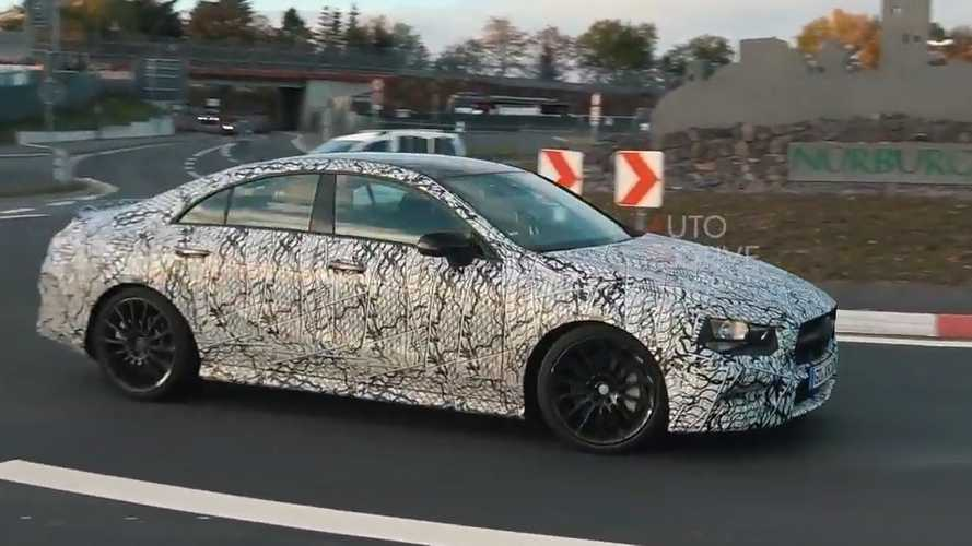 Mercedes-AMG CLA 35 caught testing hard at the Nurburgring