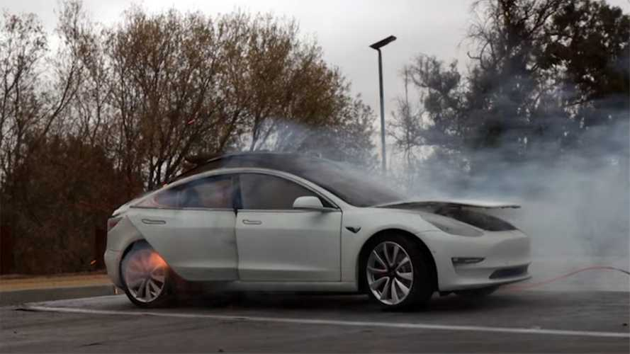 Watch The Exploding Tesla Prank That Was Supposed To Fool The Internet