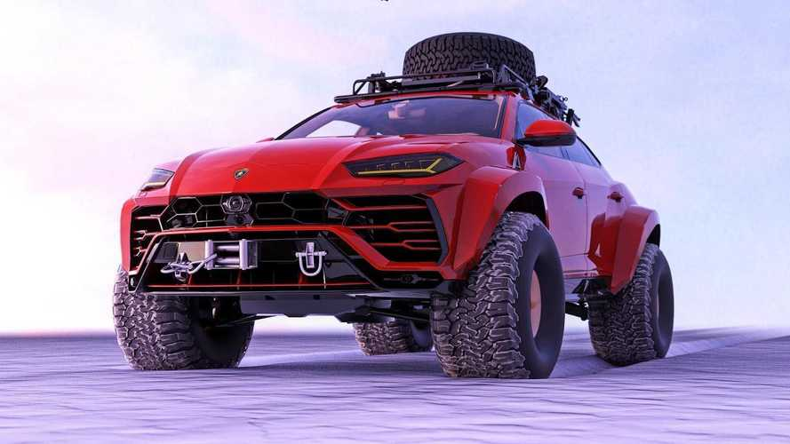 Lamborghini Urus off-roader fictional rendering could be a great idea