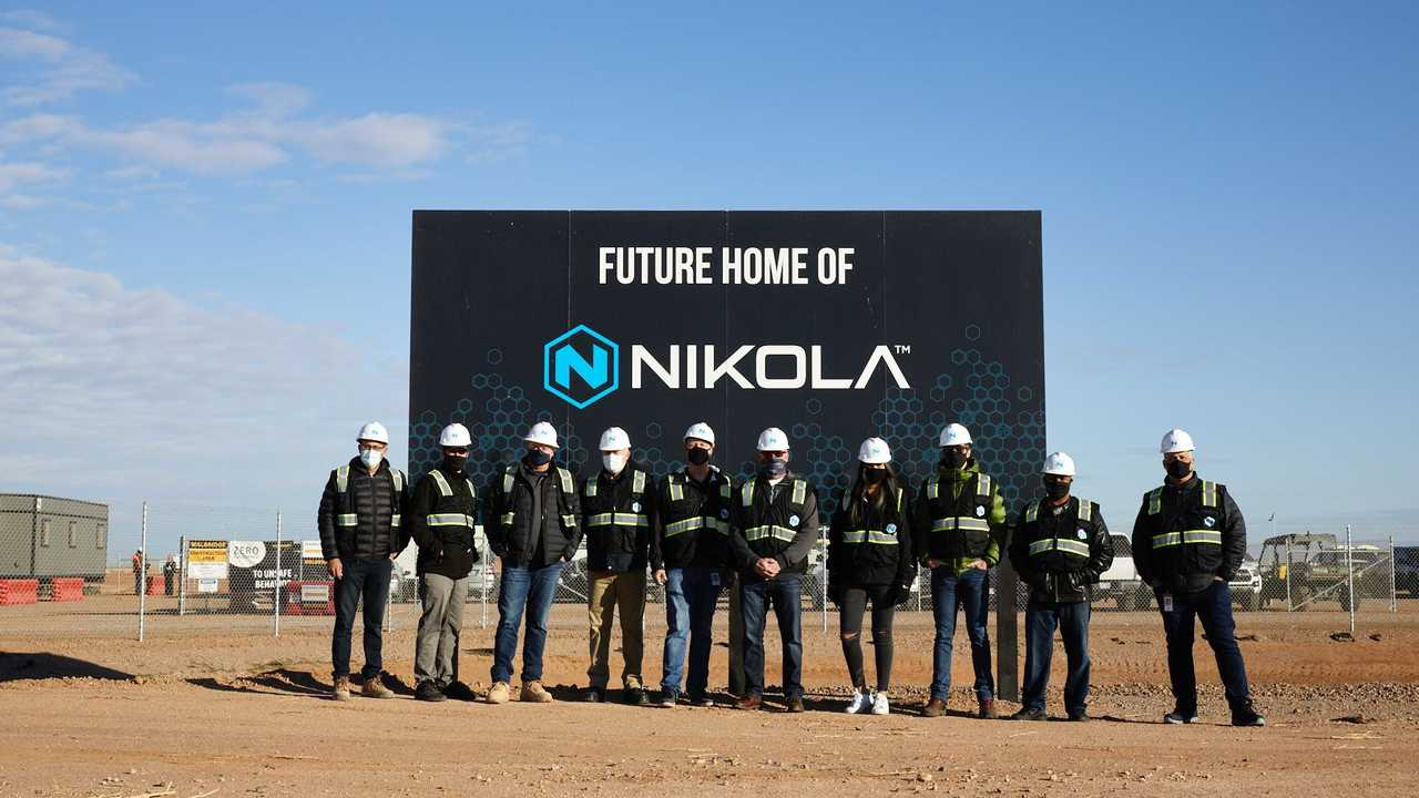 Nikola - Coolidge, Arizona manufacturing plant under construction