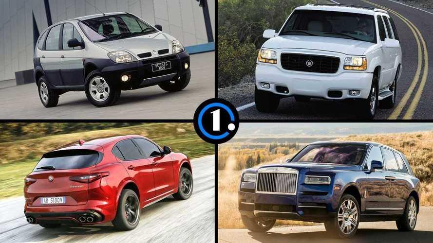 11 marcas con más tiempo sin un SUV