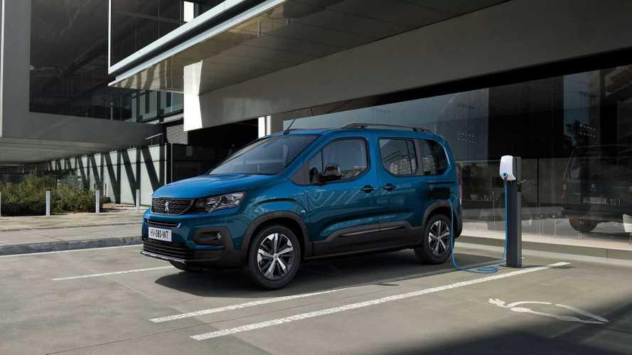 Peugeot Unveils e-Rifter Passenger Compact Van