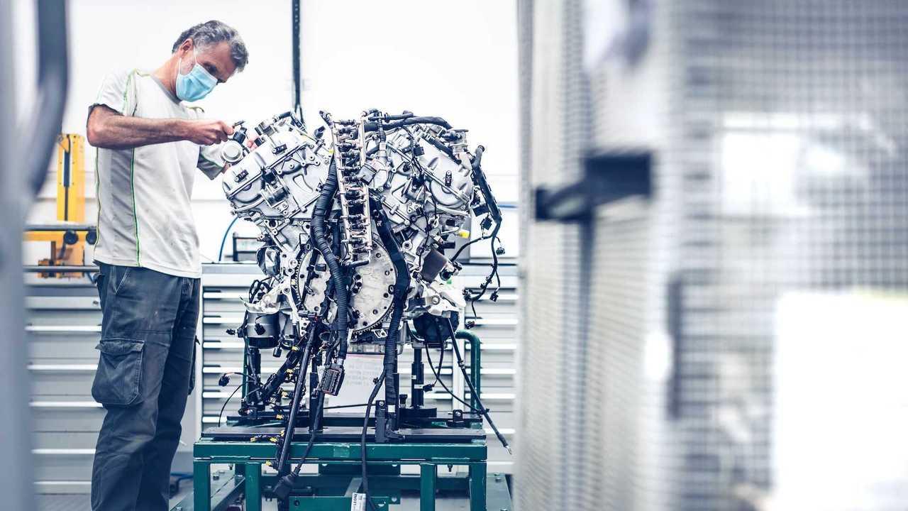First Customer Bentley Bacalar W12 Engine