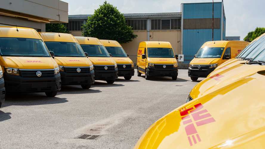 Volkswagen Crafter e DHL