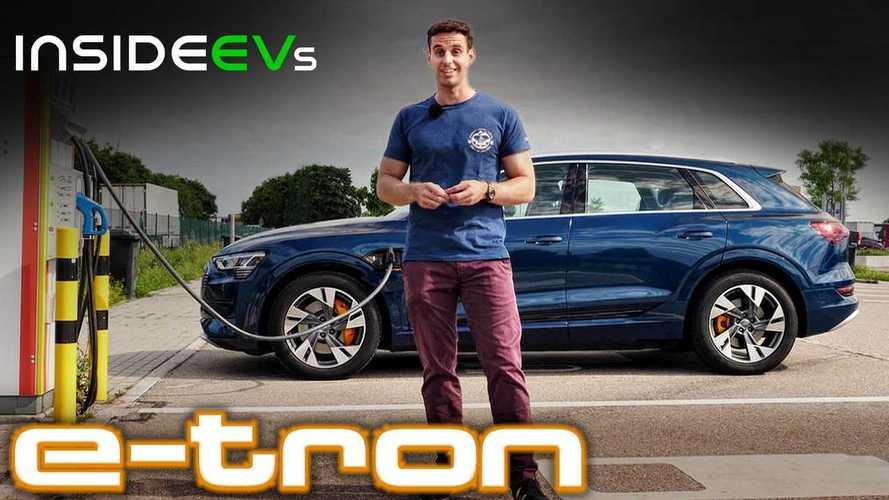 Video: Audi e-tron 55 Quattro im Test - Elektro-Dickschiff