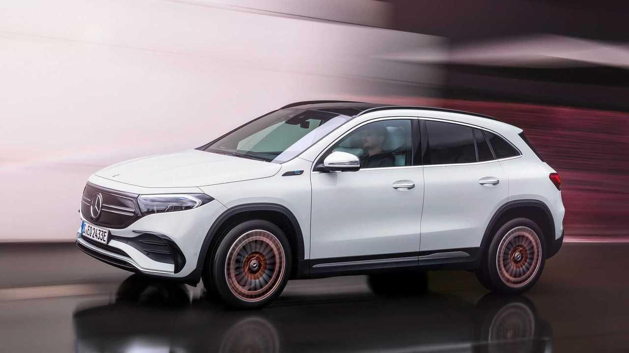 Mercedes EQA (ab Frühjahr 2021)