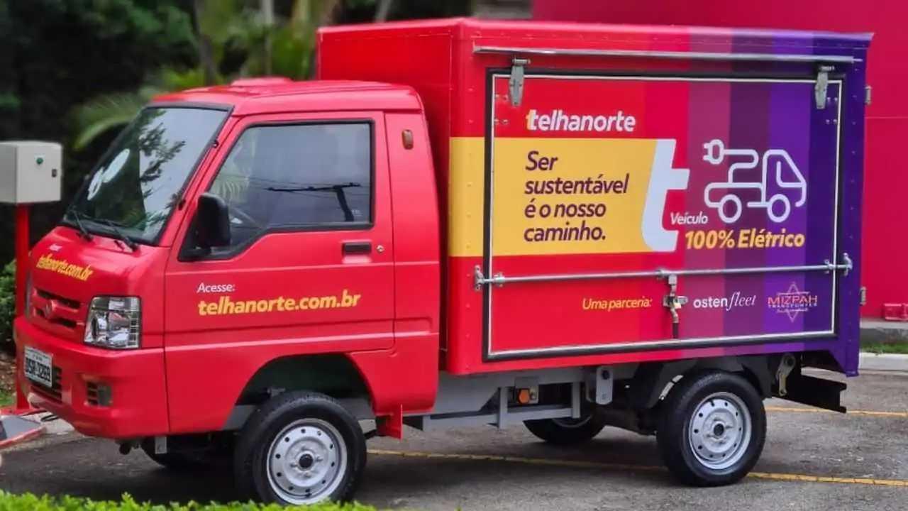 Caminhão elétrico Hitech-e Ecocargo