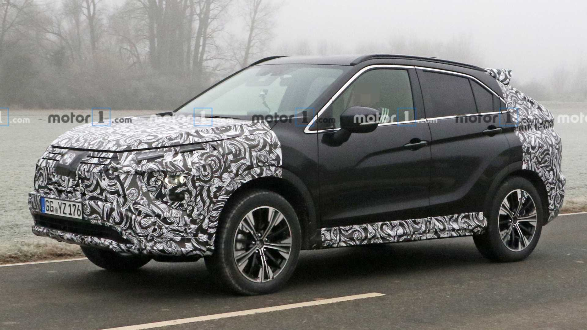 Mitsubishi Eclipse Cross facelift spied for first time