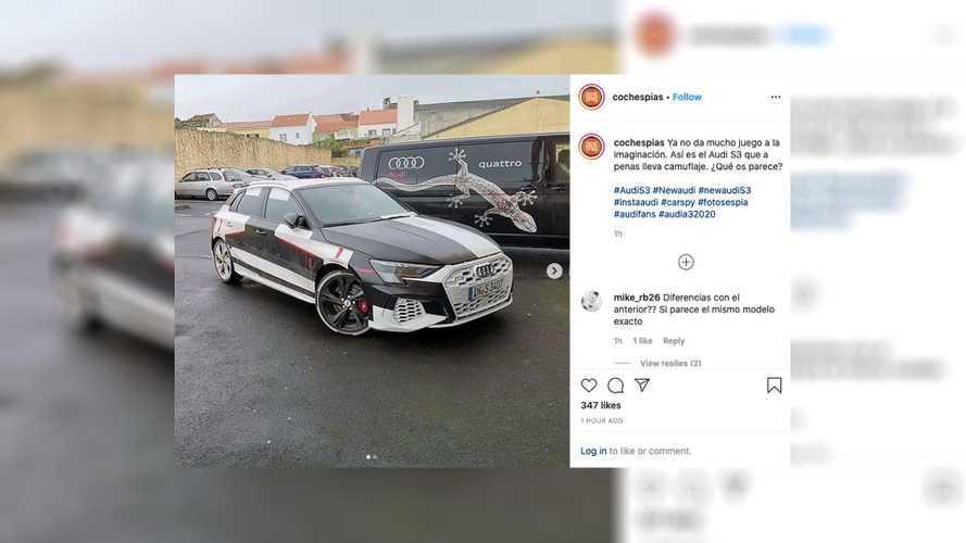 La nouvelle Audi S3 complètement à nu !