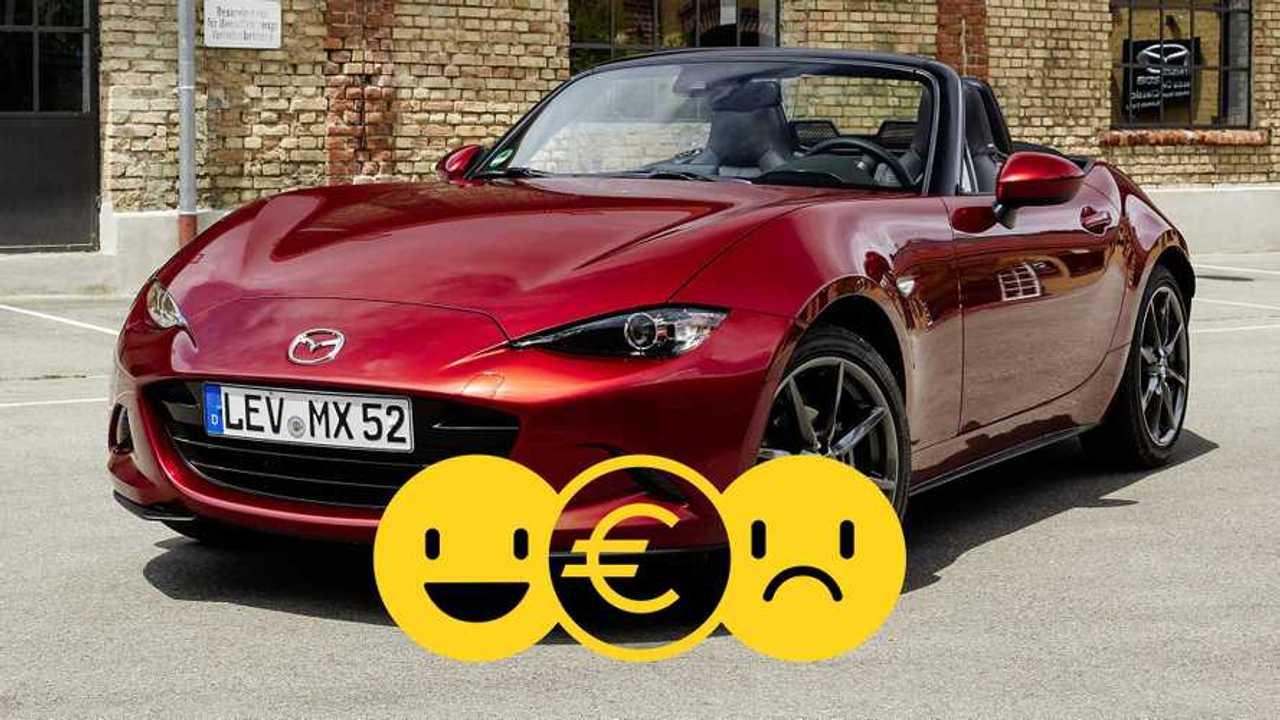 La Mazda MX-5 à 329 €/mois