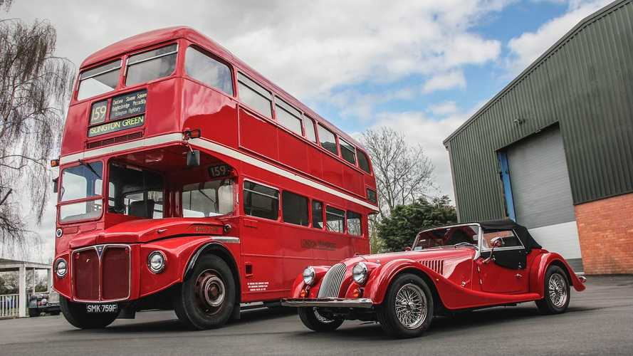 You couldn't make this up – Morgan has bought a London bus!