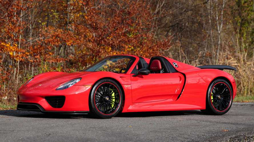 Low-mileage supercars for sale – including 100-mile 918 Spyder!