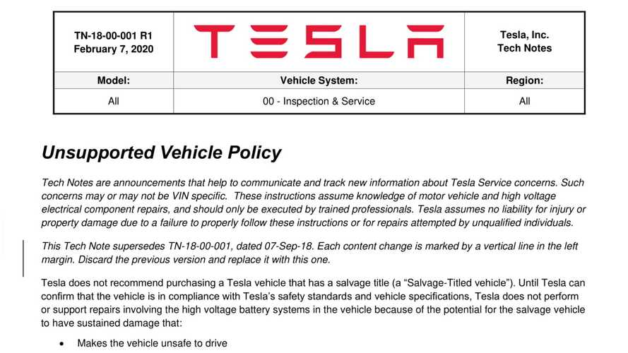 Tesla Will Disable 3rd-Party Fast Charging In Salvage EVs. But Can It Do That?