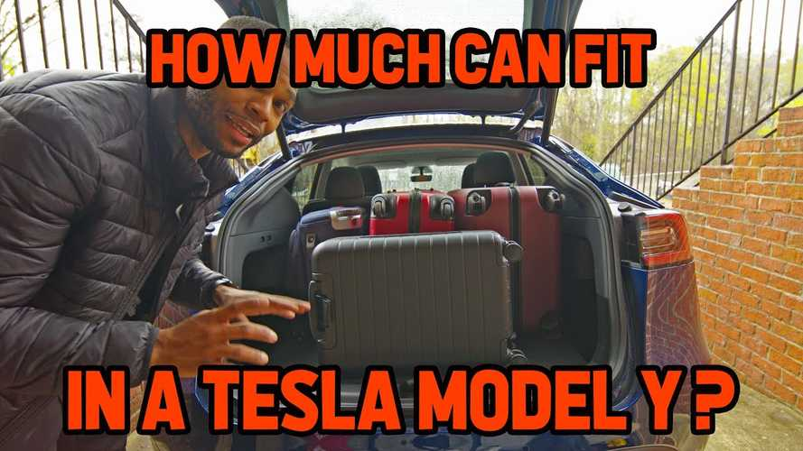 Tesla Model Y: Let's Find Out How Much Cargo Fits Inside