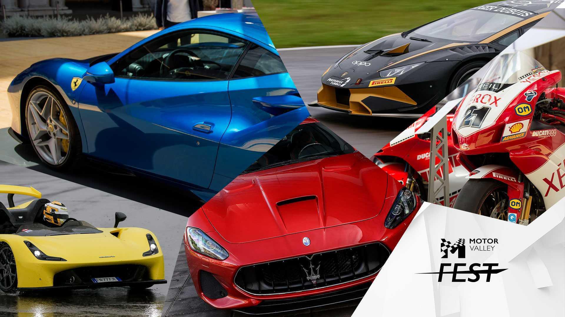 Motor Valley Fest 2020, la nuova edizione della grande festa dell'auto