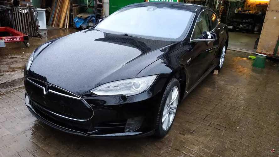 Tesla Model S repair