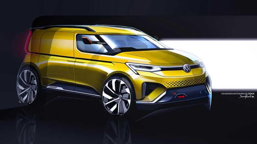 VW Caddy (2020): Neue Generation zeigt sich in ersten Skizzen
