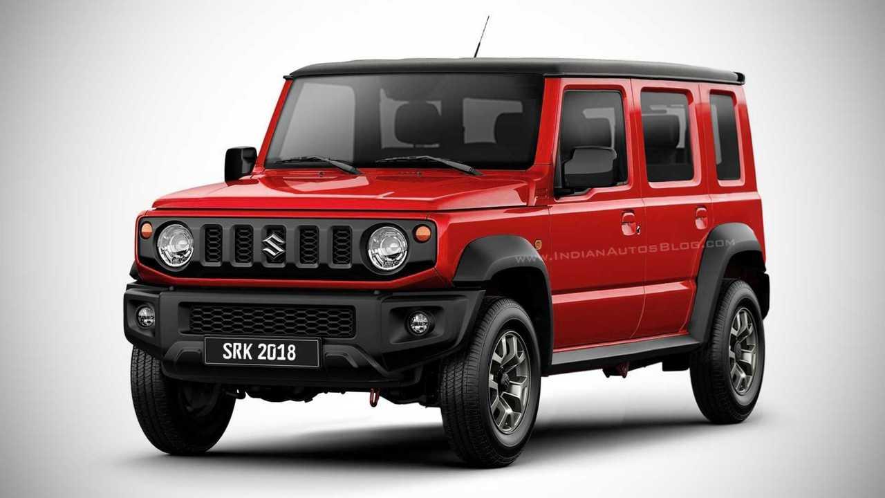 Suzuki Jimny Pode Ganhar Vers U00e3o De 4 Portas Em 2021