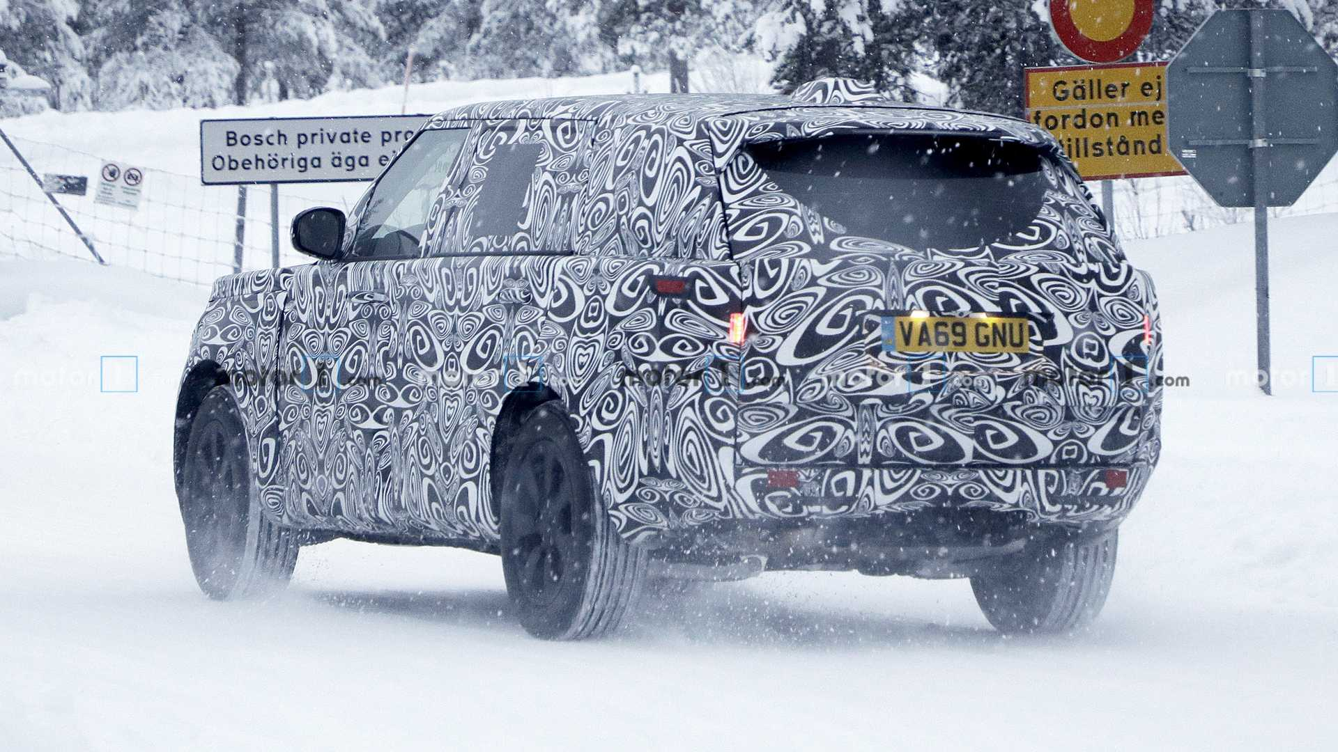 2021 - [Land Rover] Range Rover V 2021-range-rover-spy-photo